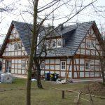 Domy ryglowe, mur pruski, Szachulec